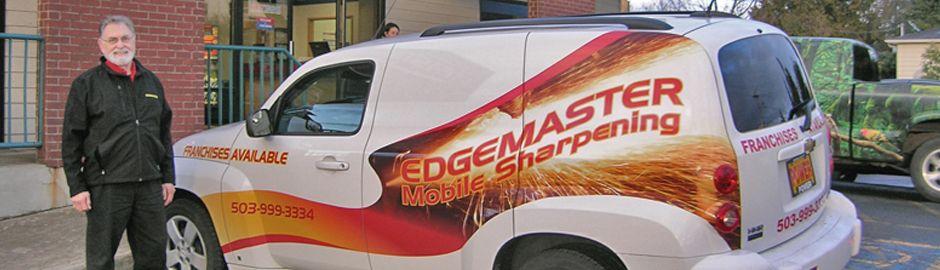 Mobile Sharpening Service Van